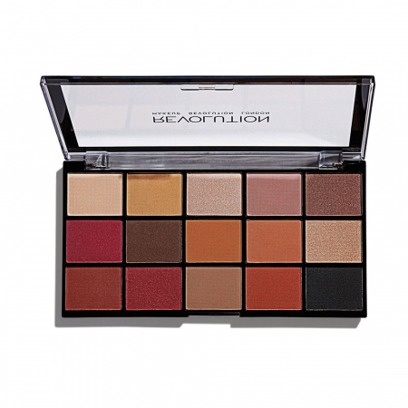 Paleta de farduri Makeup Revolution - Re-Loaded Palette - Iconic Vitality, 15 Nuante