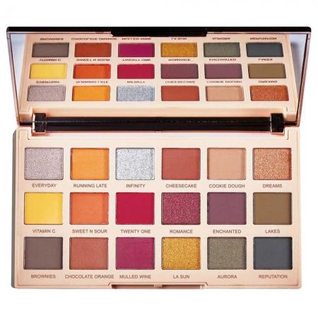 Paleta de farduri Makeup Revolution Soph X Eyeshadow Palette, Extra Spice, 18 Nuante