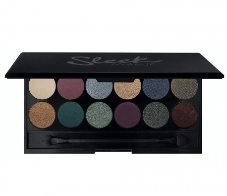 Paleta farduri SLEEK MakeUP i-Divine Eyeshadow Palette Arabian Nights, 12x1.1 gr