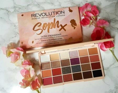 Paleta de farduri Makeup Revolution Soph X Eyeshadow Palette, 24 Nuante11