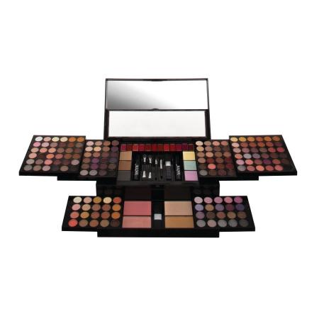 Kit complet pentru machiaj cu 190 piese, Technic Colour Me Beautiful Face Palette