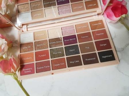 Paleta de farduri Makeup Revolution Soph X Eyeshadow Palette, 24 Nuante12