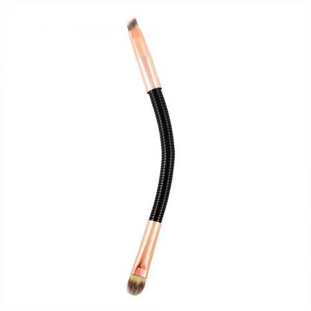 Pensula Flexibila Pentru Sprancene Makeup Revolution FLEX, 05 Brow & Shape