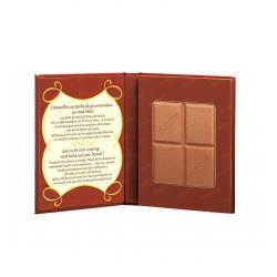 Paleta Bronzanta in forma de ciocolata BOURJOIS Paris Delice de Poudre 52 Peaux mates, 16.5g0