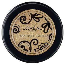 Iluminator cu Irizatii Aurii L'Oreal Paris L'Or Powder Highlighter, 3.5g