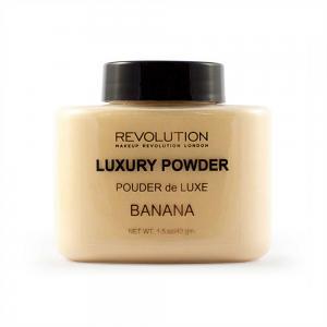 Pudra cu minerale matifianta MAKEUP REVOLUTION Luxury Banana Powder, 42g1
