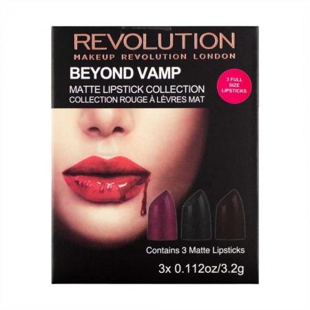 Set 3 Rujuri Makeup Revolution Beyond Vamp Matte Lipstick Collection4