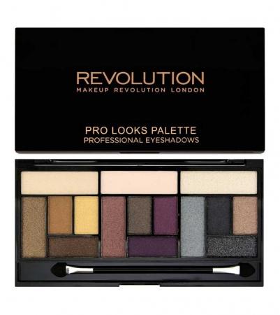 Paleta Makeup Revolution Pro Looks Palette, 3 Looks in 1 - Big Love, 13g