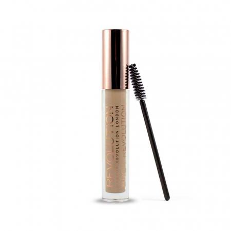 Gel Pentru Definirea Sprancenelor Makeup Revolution Brow Revolution - Soft Brown