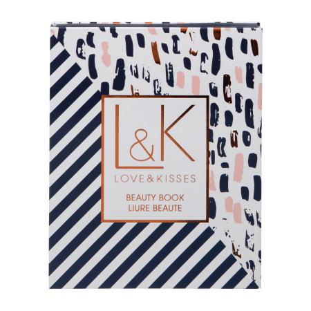 Set Carte Cadou cu Makeup Technic Love & Kisses Beauty Book1
