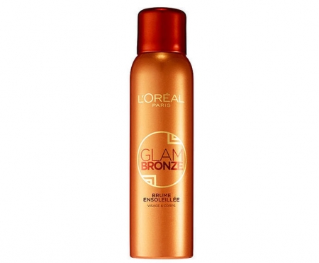 Spray Autobronzant pentru ten si corp L'Oreal Glam Bronze Tinted Mist Spray, 150 ml