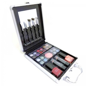 Valiza medium pentru Machiaj Technic Medium Beauty Case 2 With Cosmetics