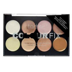Paleta Profesionala cu 8 Iluminatoare Crema TECHNIC Colour Fix Highlighter Palette, 16g