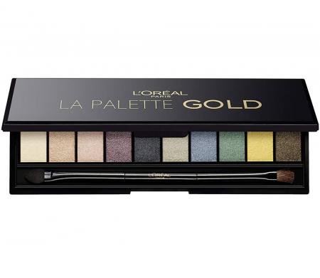 Trusa Cu 10 Farduri L'OREAL Color Riche La Palette GOLD0
