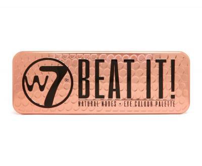 Trusa Profesionala cu 12 Farduri W7 Natural Nudes - Beat It!, 15.6g1
