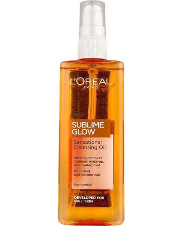 Ulei pentru curatarea tenului L'Oreal Sublime Radiance Sensational Cleansing Oil, 150 ml