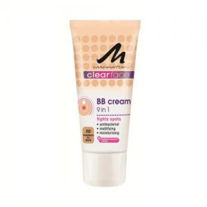 BB Cream 9 in 1 Manhattan Clear Face - 02 Medium To Dark