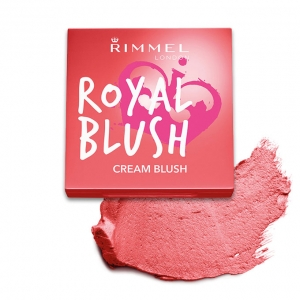 Blush Cremos Rimmel Royal Blush - 003 Coral Queen, 3.5 gr