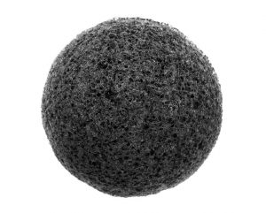 Burete Pentru Exfolierea Fetei W7 Zen Spa Konjac Sponge - Black