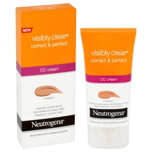 CC Cream Neutogena Visibly Clear Correct & Protect - Medium, 50 ml