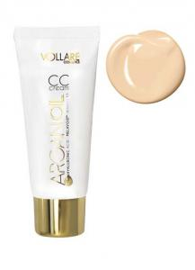Baza Profesionala CC Cream Vollare Hyaluronic Acid 30ml- 01 Porcelain