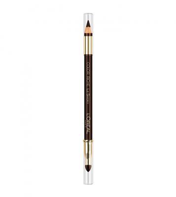 Creion de Ochi L'OREAL Color Riche Le Smoky - 204 Brown Fusion, (Maro Inchis Intens)