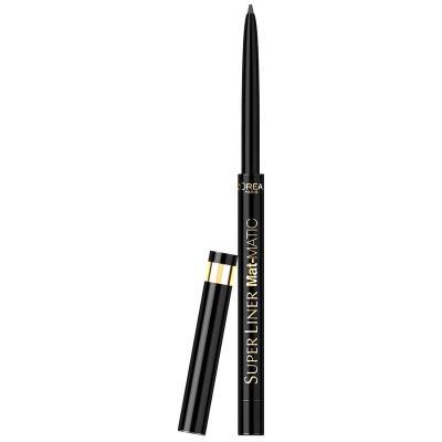 Creion De Ochi Retractabil L'oreal Super Liner Mat-MATIC - Ultra Black