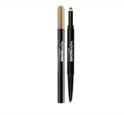Creion Duo Pentru Sprancene MAYBELLINE Brow Satin - Dark Blonde
