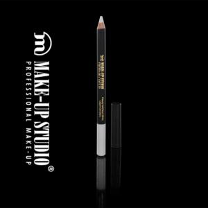 Creion Profesional alb pentru luminozitate Kohl Make-Up Studio - White1
