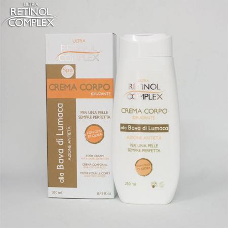 Crema de corp hidratanta cu extract de Melc, Ultra Retinol Complex, 250 ml