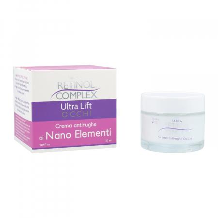Crema pentru conturul ochilor cu Nano Elemente, Ultra Retinol Complex, 50 ml