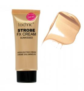 Iluminator cu particule TECHNIC Strobe Fix Cream Sunkissed, 35g