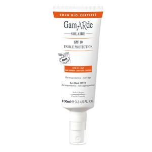 Crema BIO cu Protectie Solara SPF 10 GamARde Solaire - 100 ml