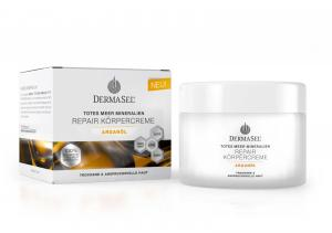 Crema De Corp Reparatorie Dermasel Cu Ulei De Argan Si Minerale-250 ml