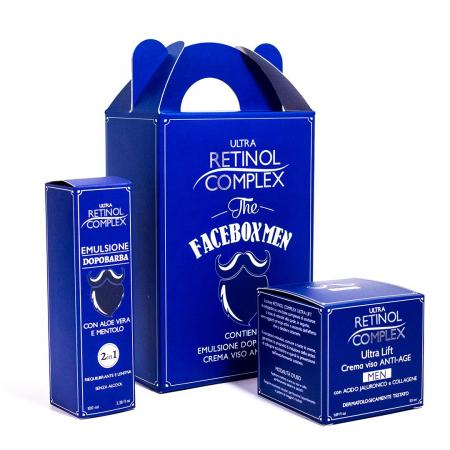 Set cadou Facebox Men, Ultra Retinol Complex