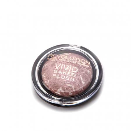 Fard de Obraz Makeup Revolution Baked Blusher - Hard Day, 6g