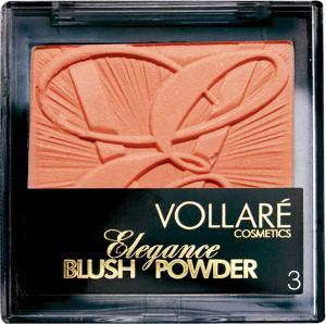Fard De Obraz Vollare Elegance Blush - 3 Natural Bronze