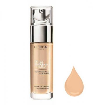 Fond De Ten L'OREAL True Match Super Blendable - 3.R/3.C Rose Beige, 30 ml