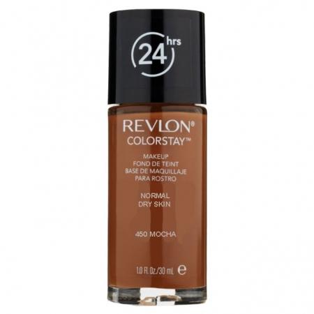 Fond De Ten Revlon Colorstay Dry Skin  - 450 Mocha, 30ml