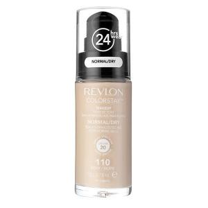 Fond De Ten Revlon Colorstay Dry Skin Cu Pompita - 110 Ivory, 30ml