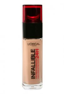 Fond De Ten L'oreal Infallible 24 Hr - 200 Golden Sand, 30ml