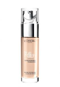 Fond De Ten L'oreal True Match Super Blendable - 1.N Ivory, 30 ml