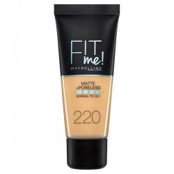 Fond de ten MAYBELLINE FIT ME Matte & Poreless 220 Natural Beige, 30 ml