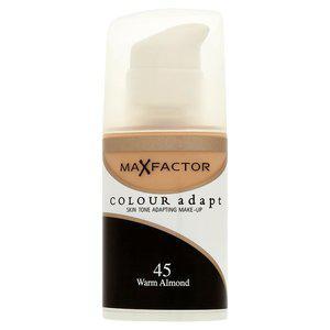 Fond de Ten Lichid MAX FACTOR Colour Adapt - 45 Warm Almond, 34 ml