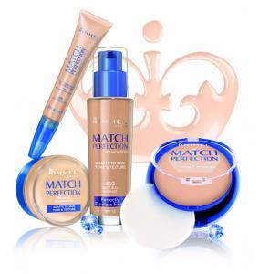 Fond De Ten Rimmel Match Perfection Cream Gel-300 Sand2