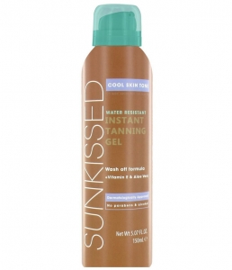 Gel Autobronzant Sunkissed Instant Tanning Gel Cool Skin Tone, 150 ml