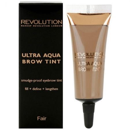 Gel pentru Definirea Sprancenelor Makeup Revolution Ultra Aqua Brow Tint - Fair, 10g