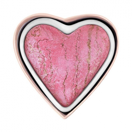 Iluminator Cu Particule Bronzate I Heart Revolution Baked Highlighter Bleeding Heart, 10 gr