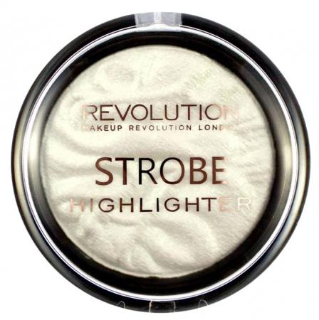 Iluminator Makeup Revolution Strobe Vivid Baked Highlighter - Flash, 7.5g