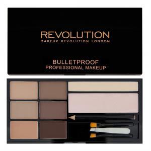 Kit Complet Pentru Sprancene Makeup Revolution Ultra Brow - Fair To Medium